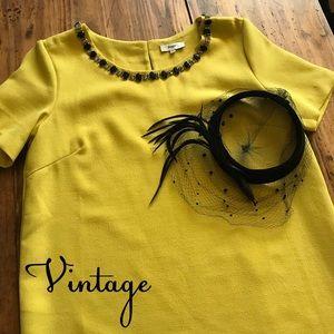 French Vintage Shift Dress